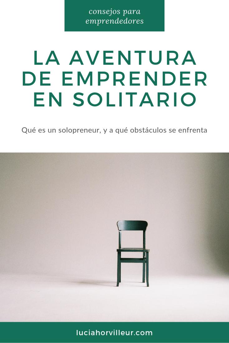 emprender en solitario solopreneur